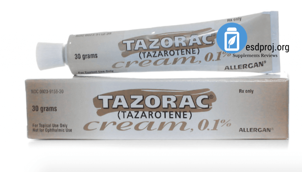 Tazorac Cream